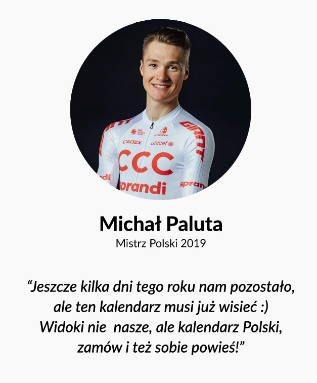 Michał Paluta o kalendarzu The Climb