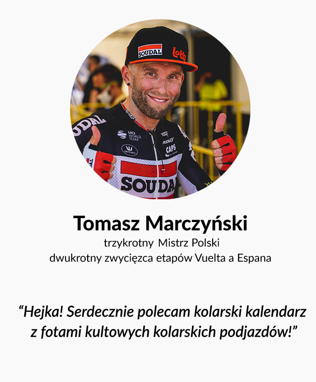 Tomasz Marczyński o kalendarzu The Climb