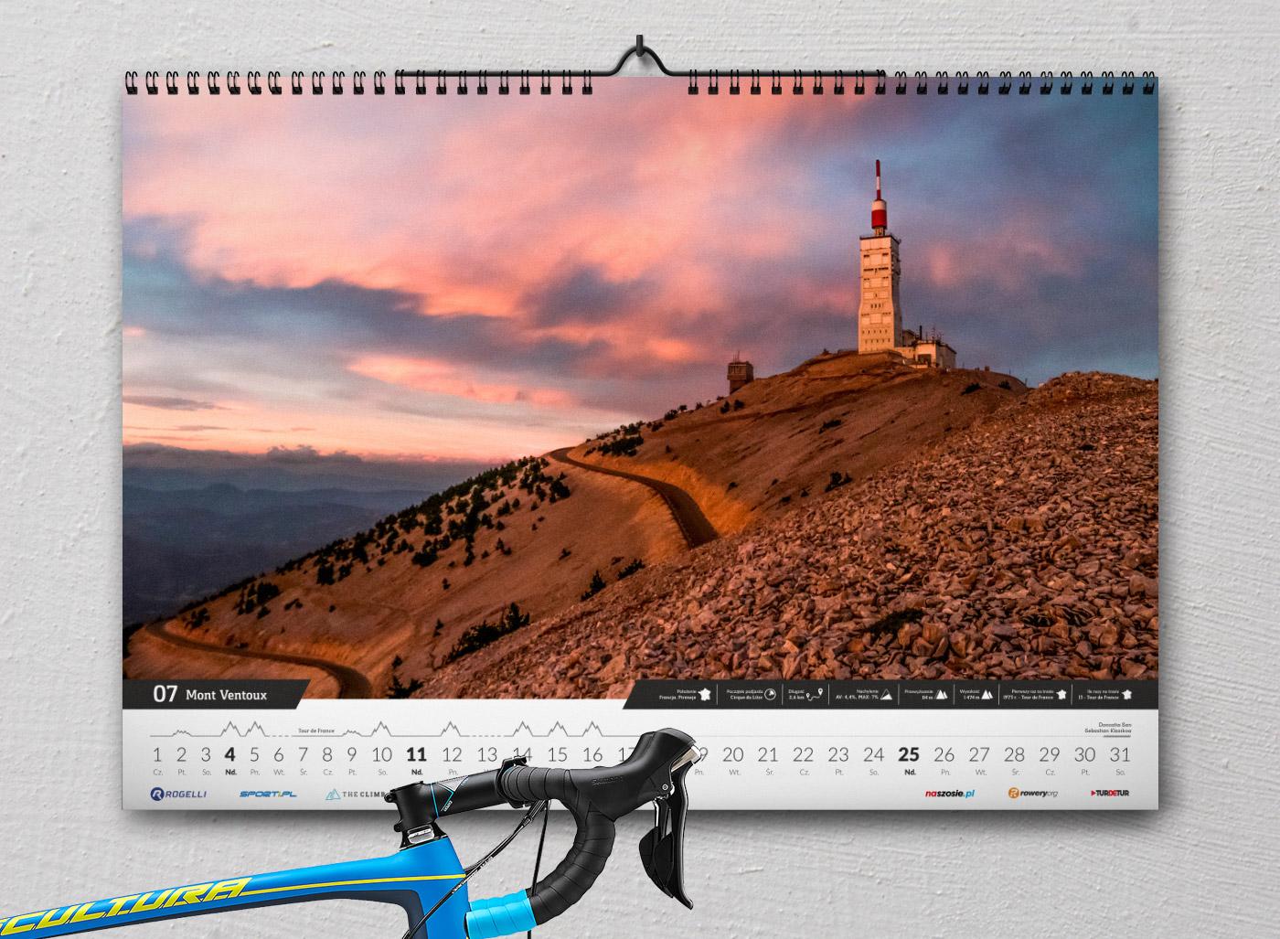 Kalendarz The Climb 2021 - Mont Ventoux