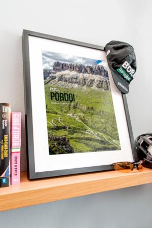 Plakat Passo Pordoi