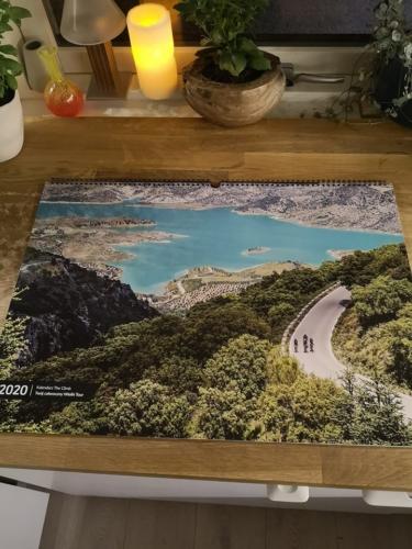 Kalendarz The Climb 2020 photo review