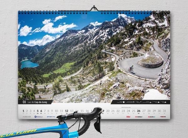 Kolarski kalendarz The Climb 2020