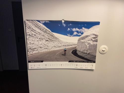 Kolarski zestaw: Kalendarz 2021 + podkładki photo review